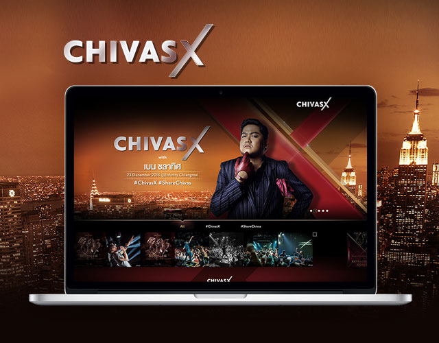 Chivas X Version 2 Digital NEX : Digital Agency in Thailand