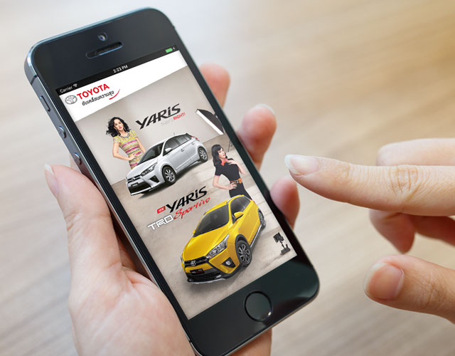 Toyota Yaris Digital NEX : Digital Agency in Thailand